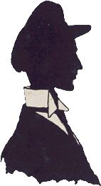 Silhouette cartoon of Wilbur
